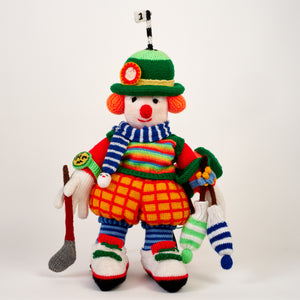 Hand-Knitted Clown