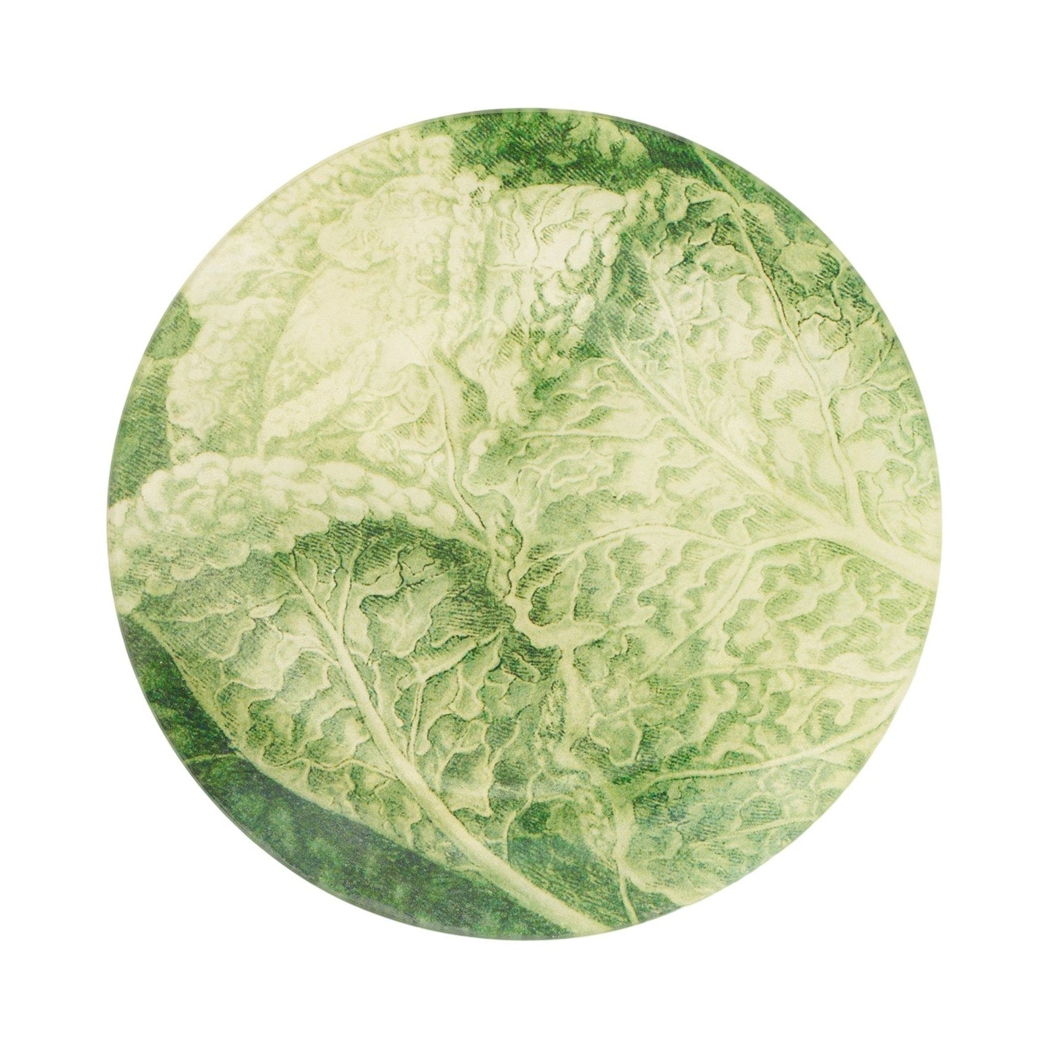 "7 1/2"" Cabbage Decoupage Plate"