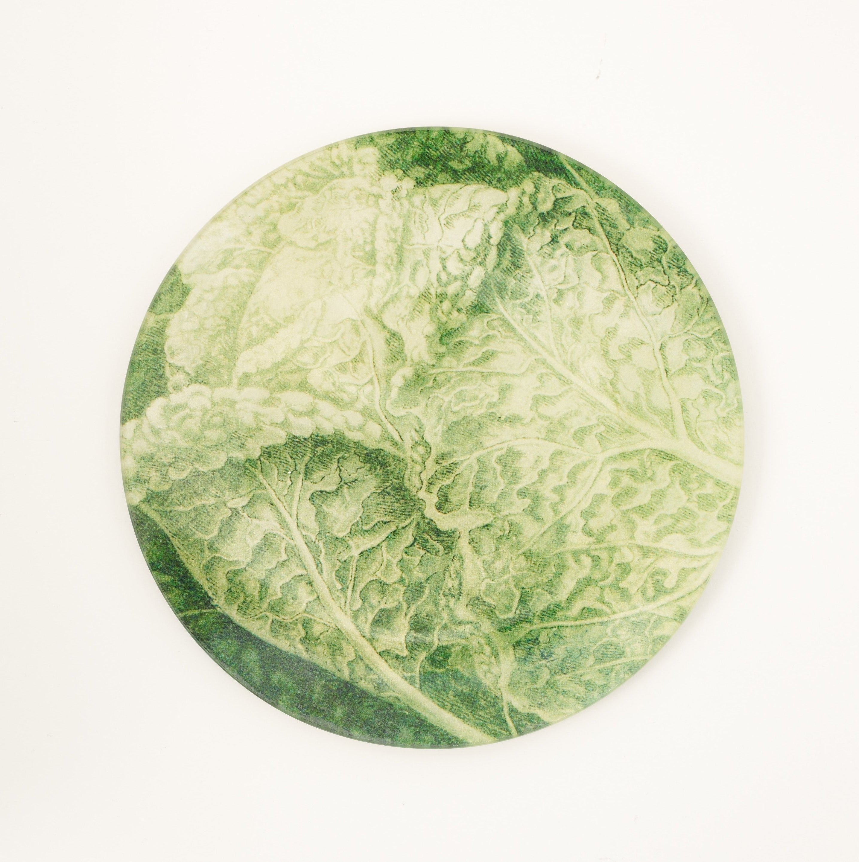 7 1 2 Cabbage Decoupage Plate Pentreath Hall
