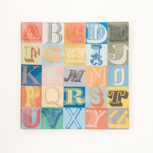 "6"" P&H Alphabet Decoupage Tray"