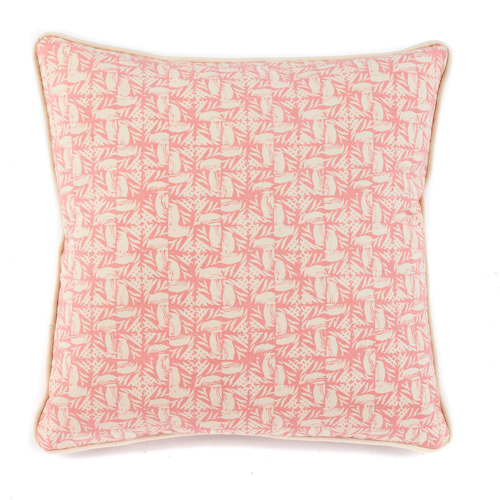 Small Spiral Cushion - Ethel Pink