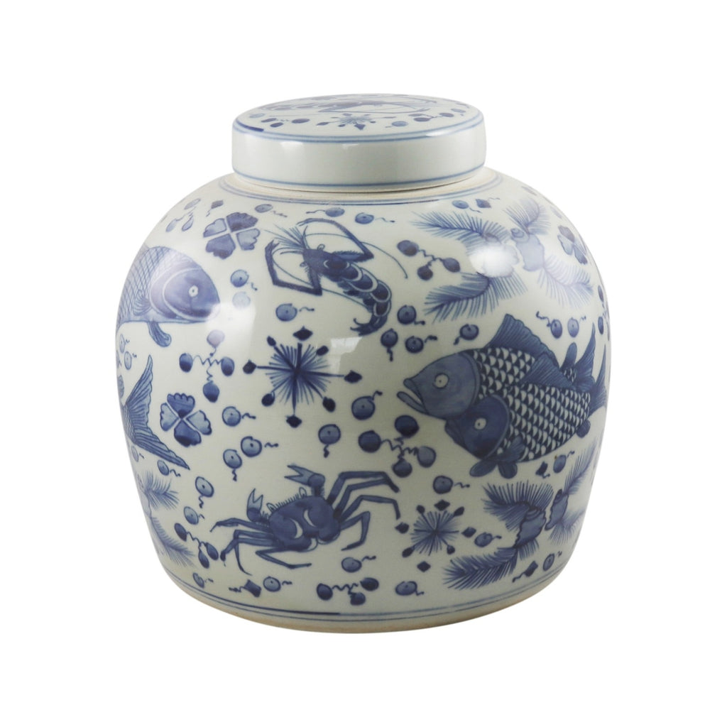 Medium Ocean Fish Jar