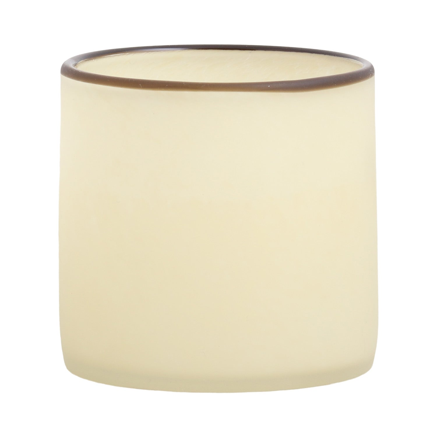 Glass Tealight Holder - Cream