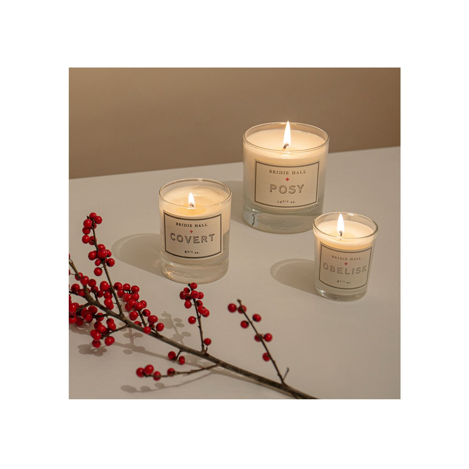 Roses Candle - Large