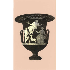 Ancient Greek Vase Print - Pink