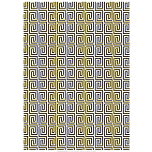 Shadowed Meander Patterned Paper
