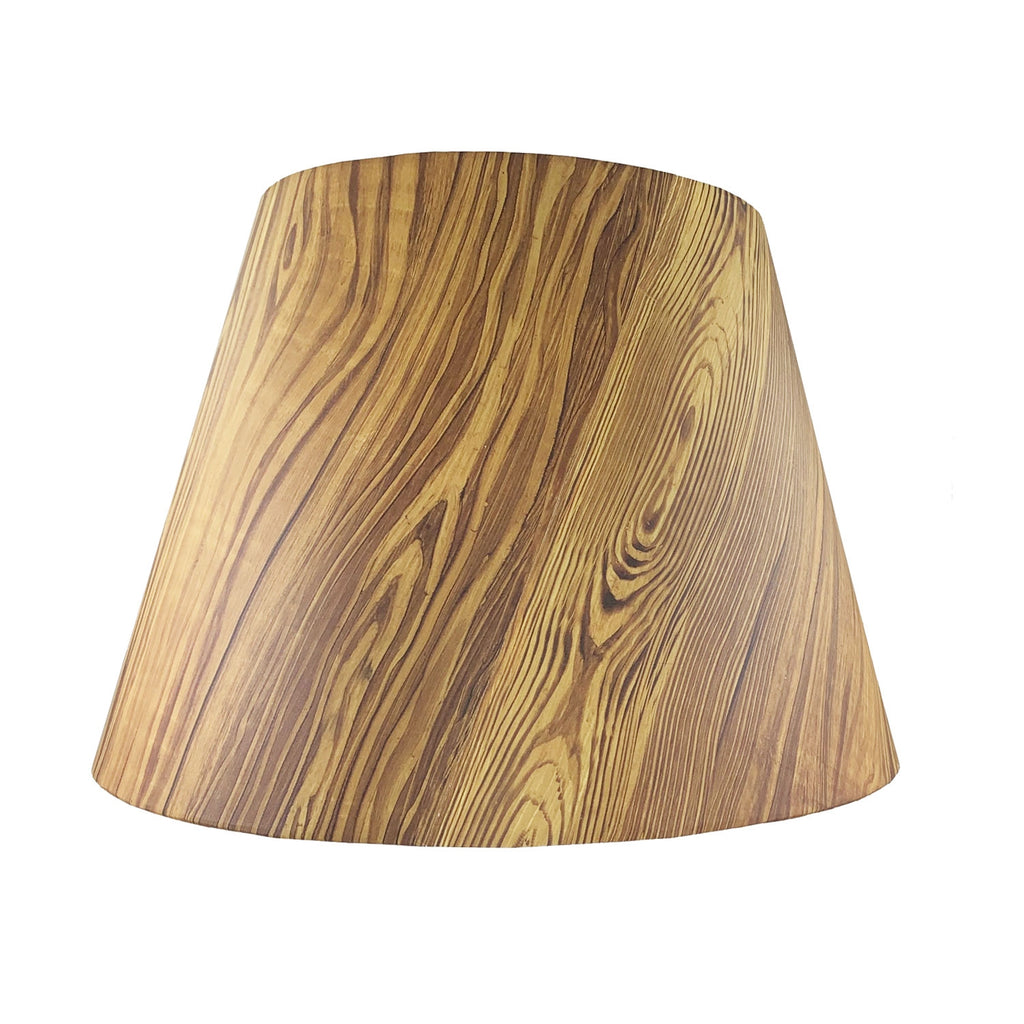 "16"" Pitch Pine Lampshade"