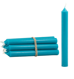 Blue Dinner Candle - pack of 12