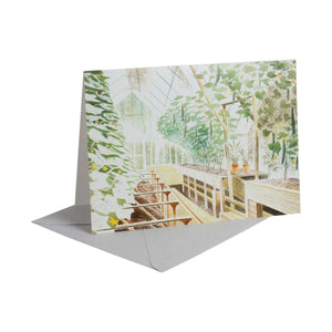 Cucumber House - Greeting Card