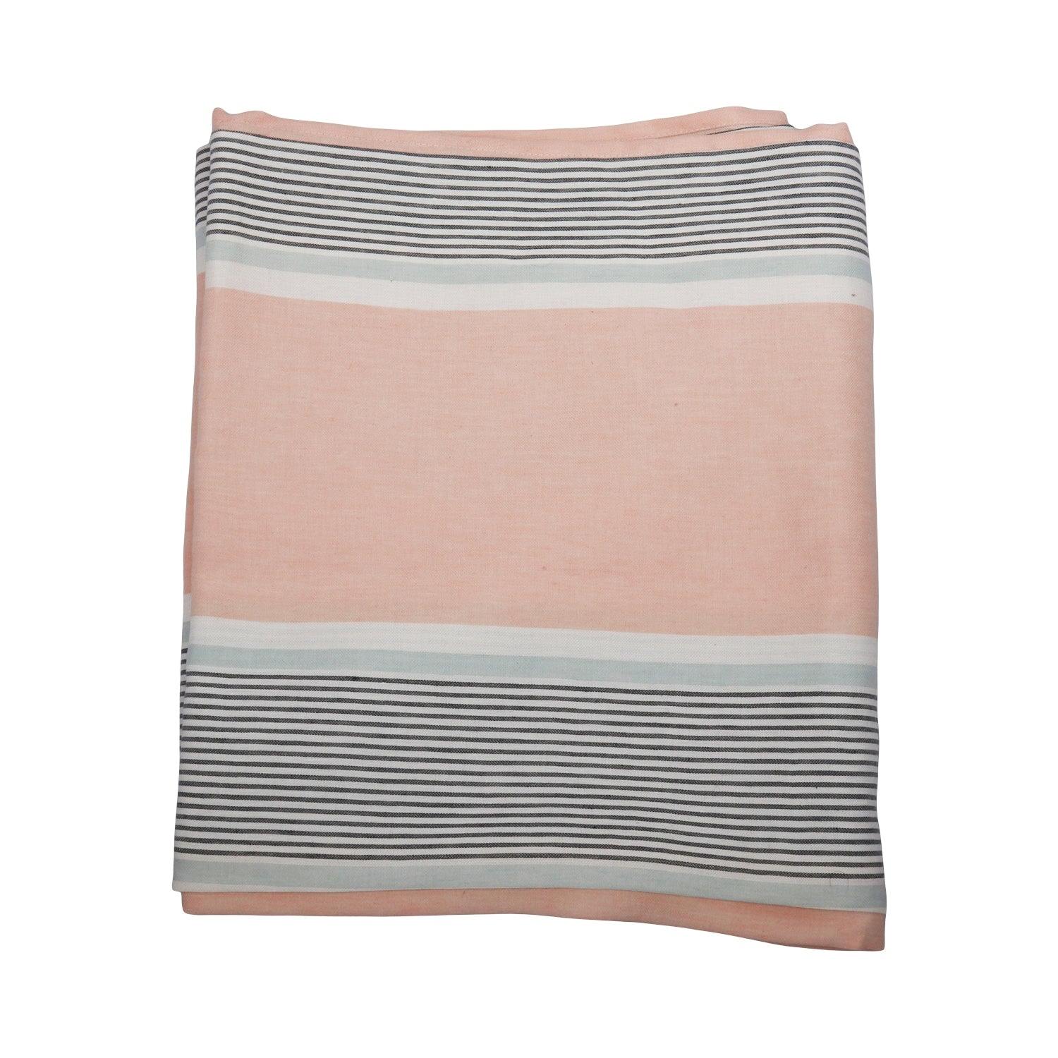 Stripe Tablecloth - Apricot