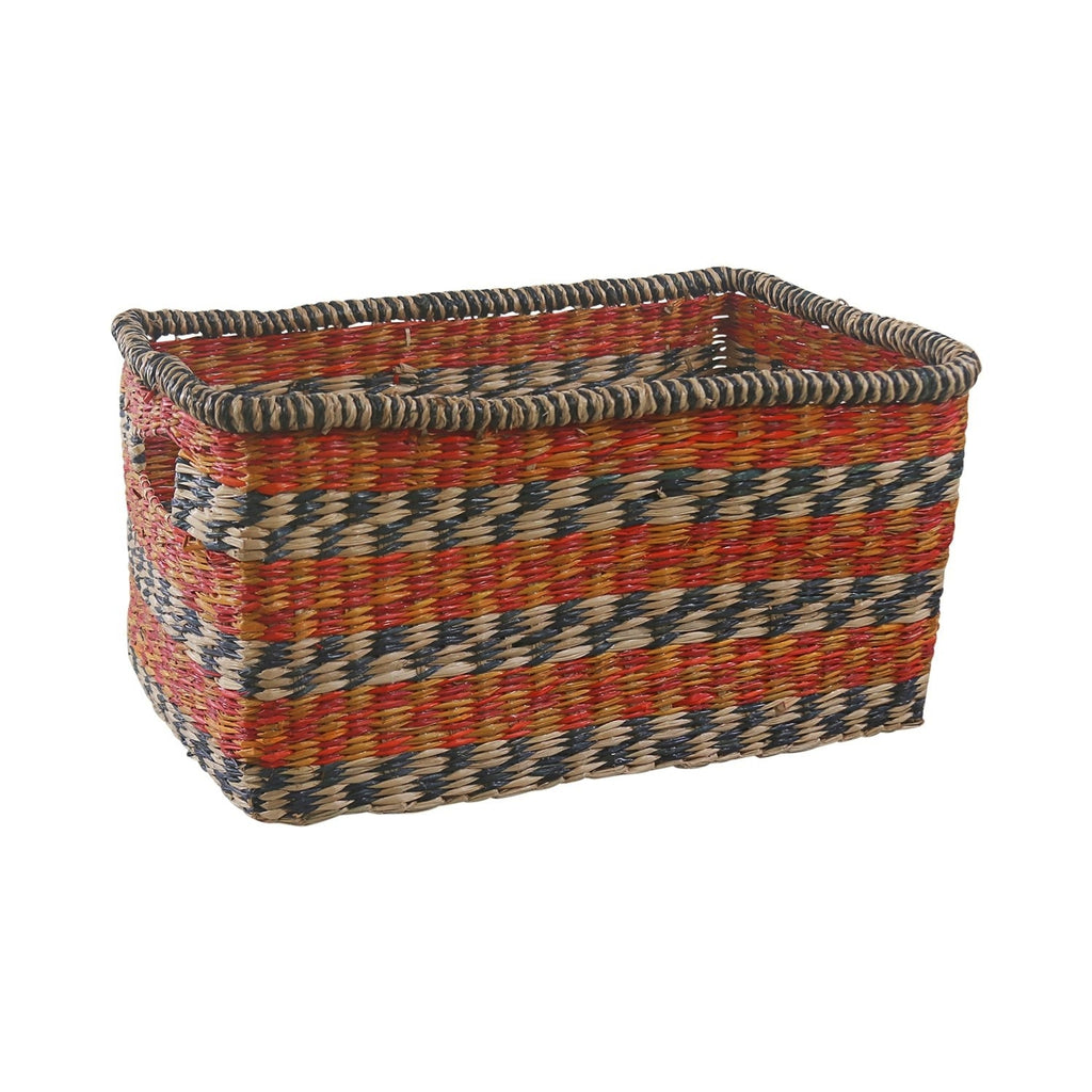 Zulu Basket Blue Square - S