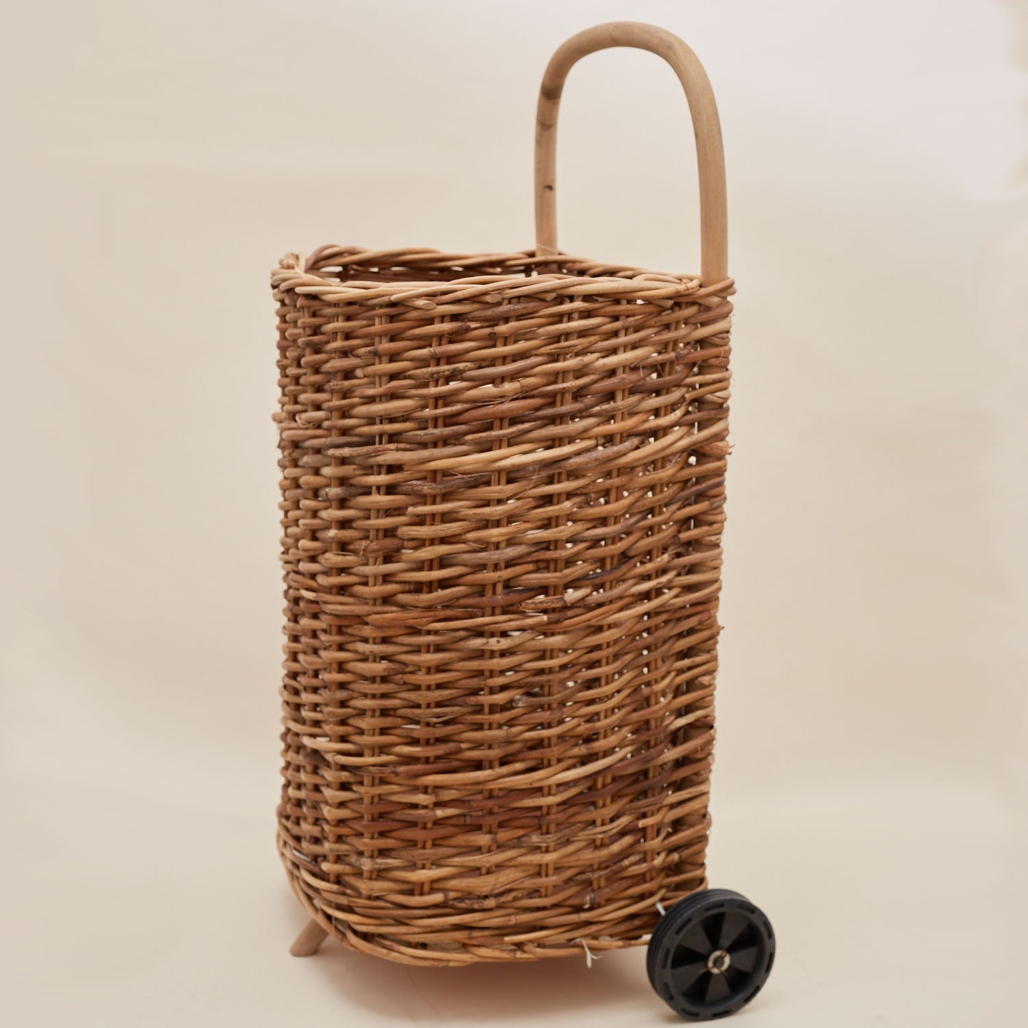 Wicker Trundling Trolley