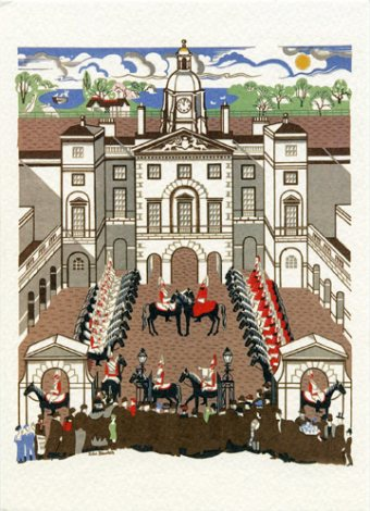 Changing the Guard - Greeting Card
