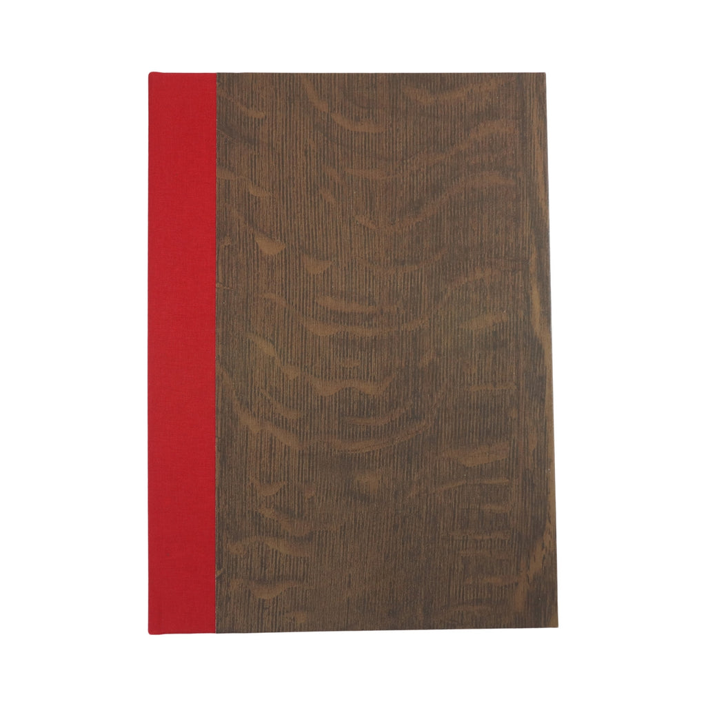 A5 Notebook - English Mid Oak