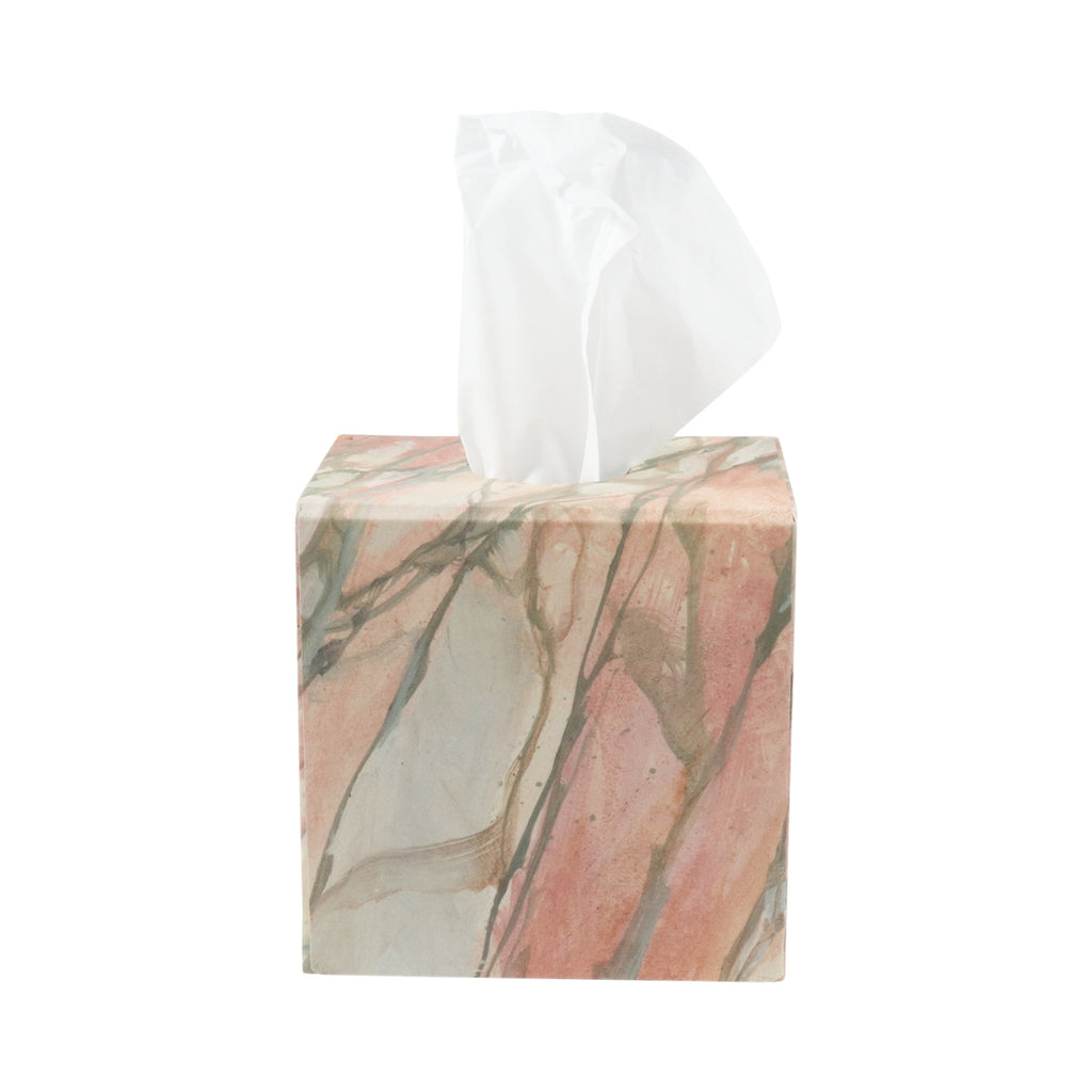 Tissue Box - Norwegian Rose