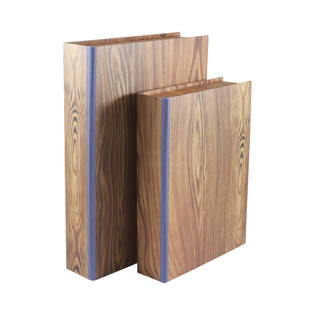 A4 Boxfile - Pitch Pine