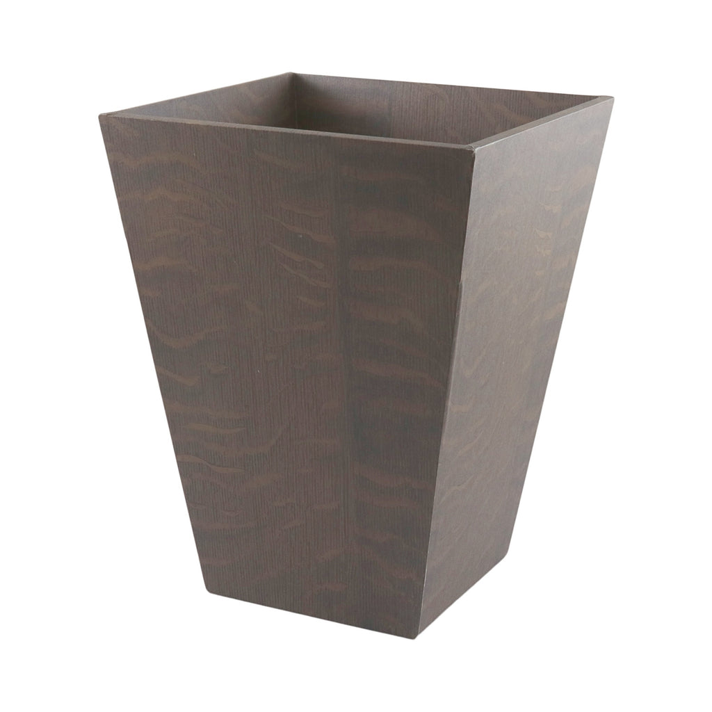 Waste Paper Bin - English Mid Oak
