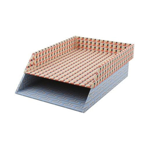 Letter Tray - Venetian Box Grid