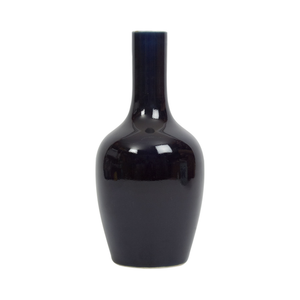Straight Collar Vase - Imperial Blue