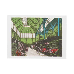 Covent Garden Flower Market- Edward Bawden
