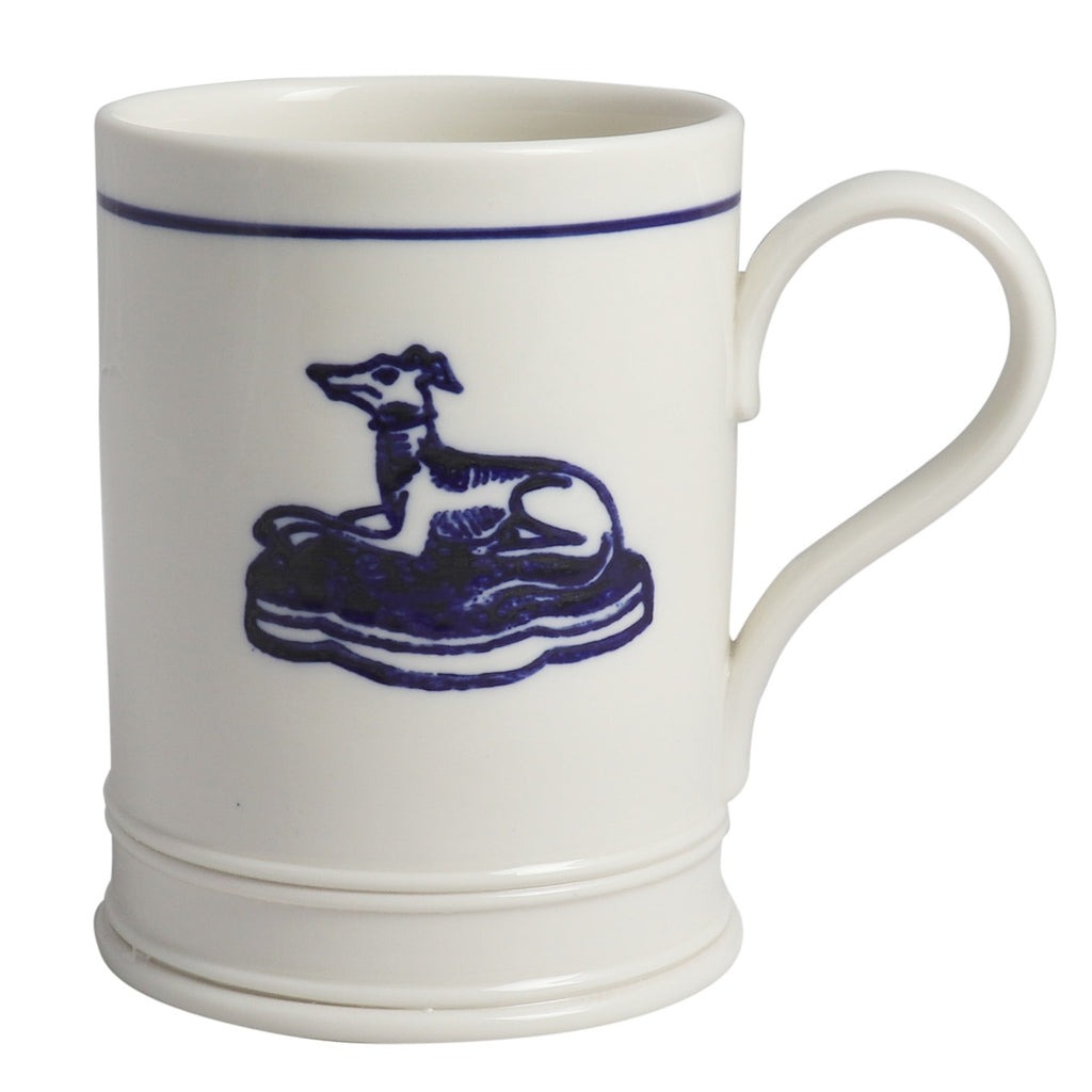 Classical Mug - Hound With Blue Line