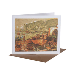 Lulworth Cove - Greeting Card