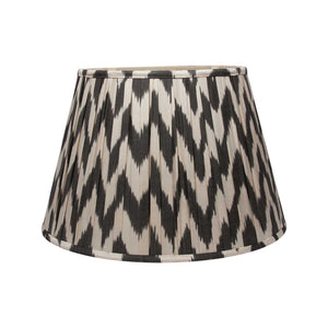 "18"" Black Chevron Ikat Lampshade"