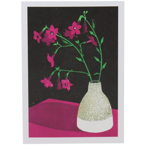 Nicotiana Greeting Card