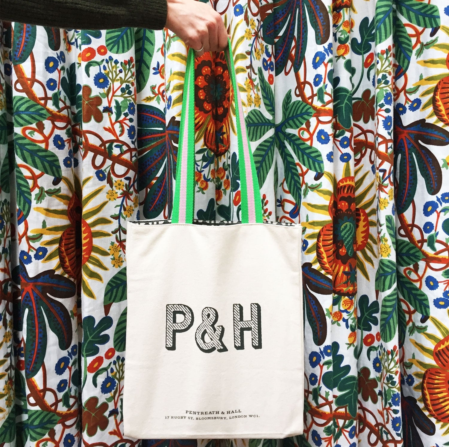 P&H Canvas Book Bag