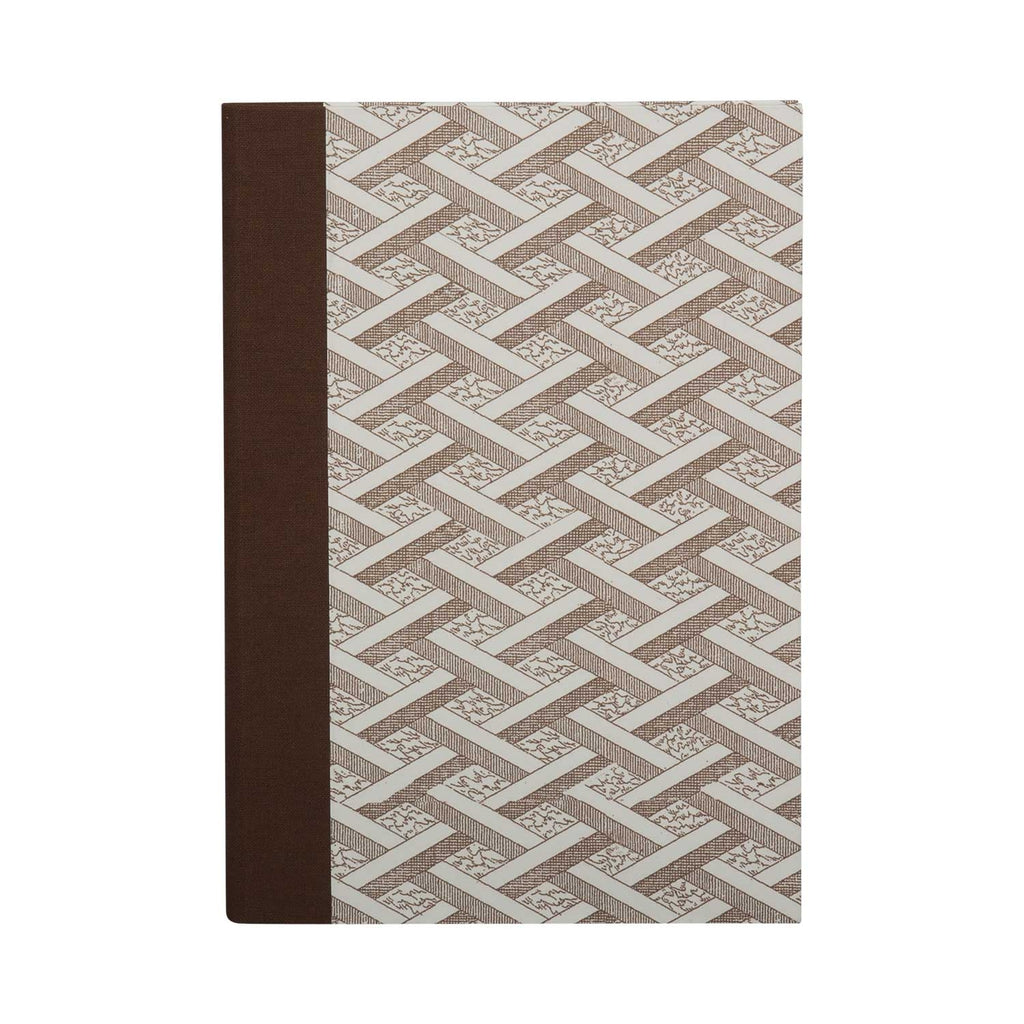 A5 Notebook Stone lattice