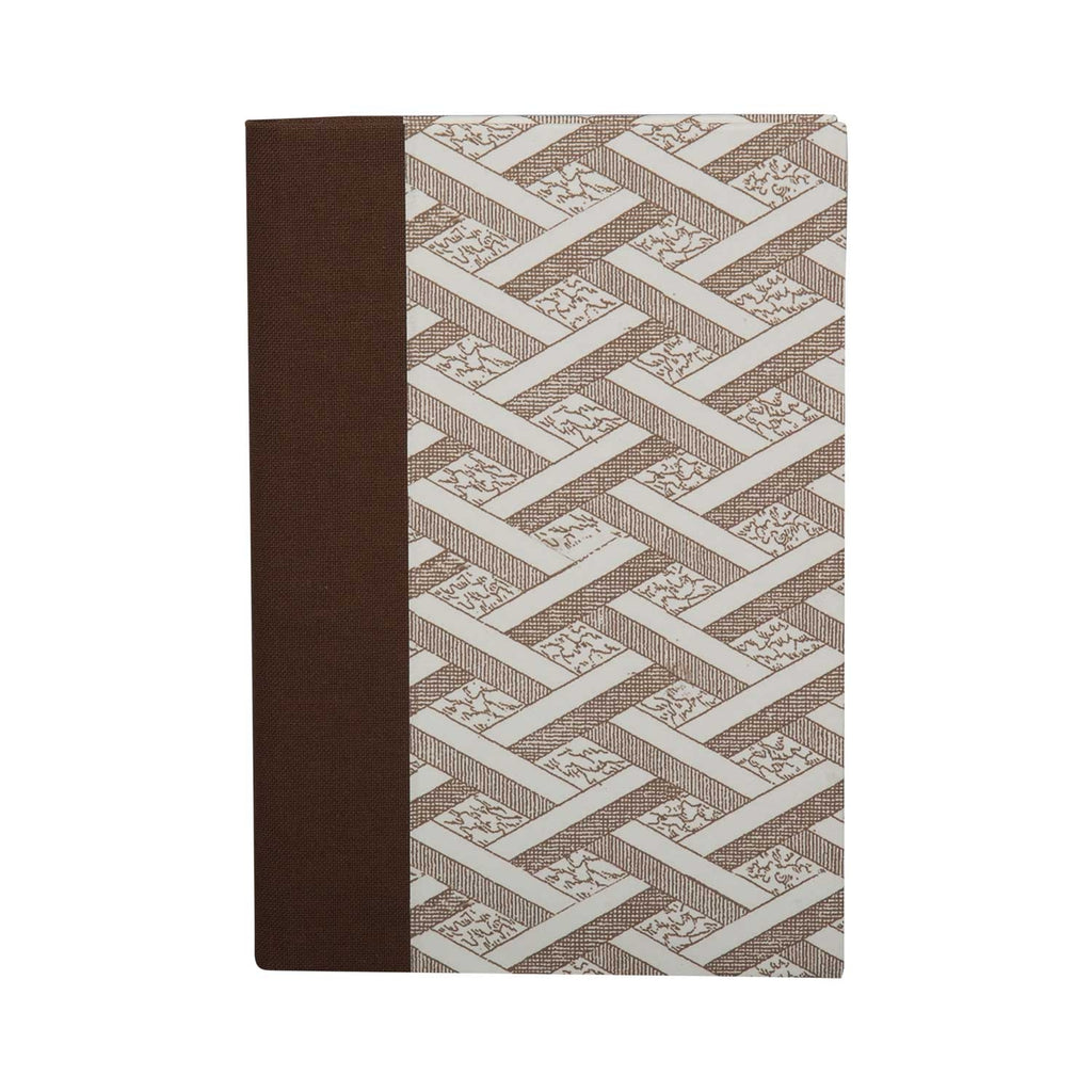 A6 Notebook Stone Lattice