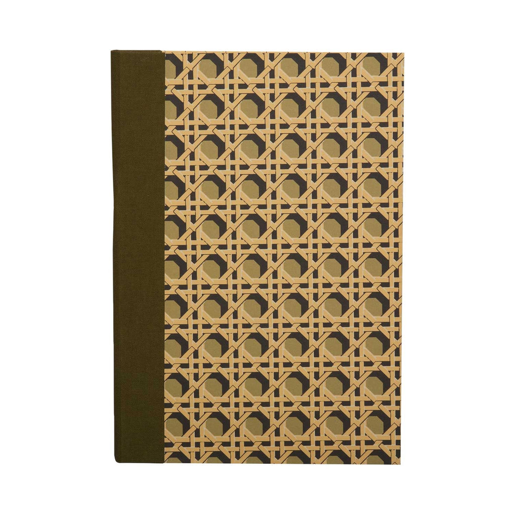 A5 Notebook Khaki Regency Caning