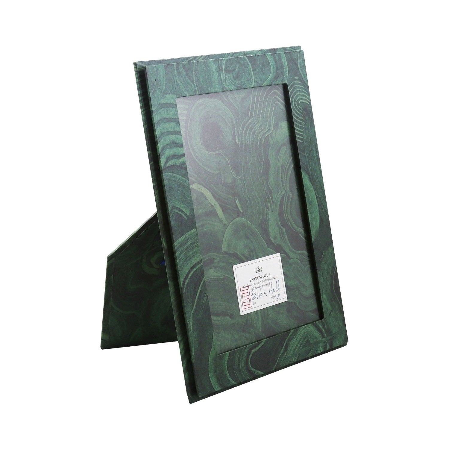 4 x 6 Picture Frame - Malachite