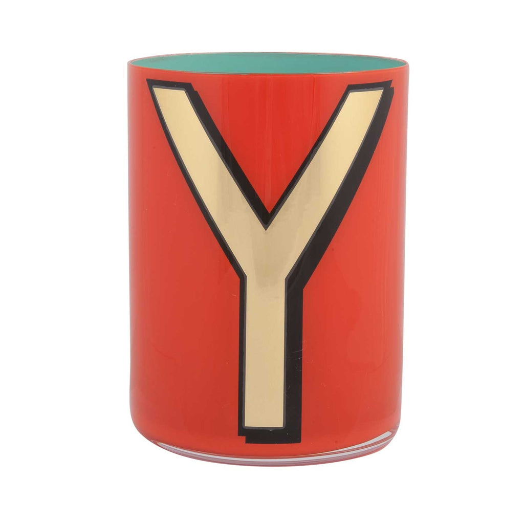 Alphabet Brush Pot - Y