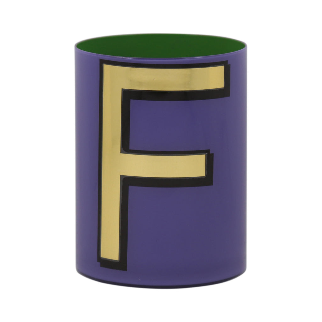 Alphabet Brush Pot - F