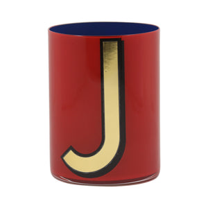 Alphabet Brush Pot - J