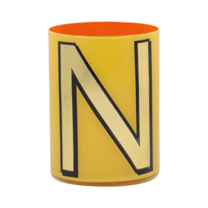 Alphabet Brush Pot - N