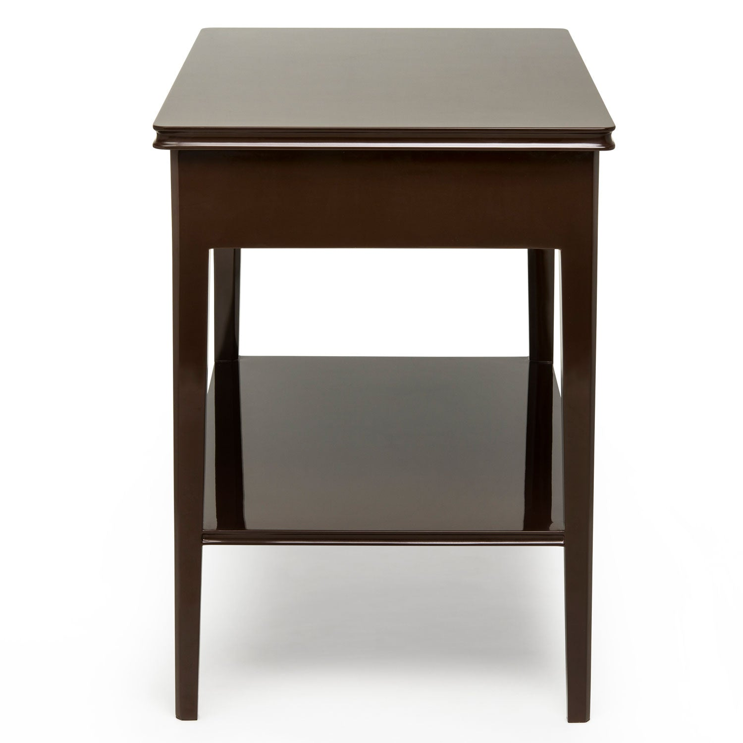Large Bedside Table - Brown / Kelly Green - Ex Display