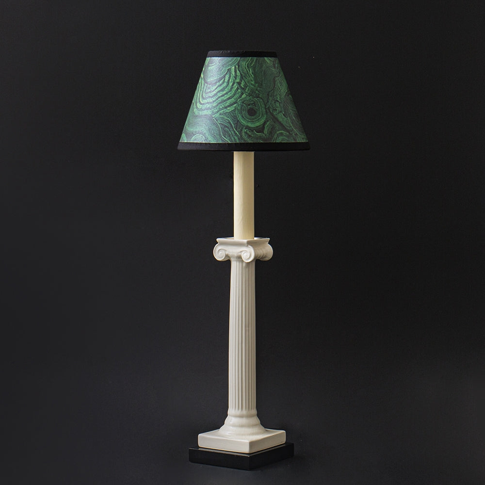 The P&H Ionic Column Table Lamp