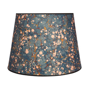 "Antique Spot - 16"" Blue Lampshade"