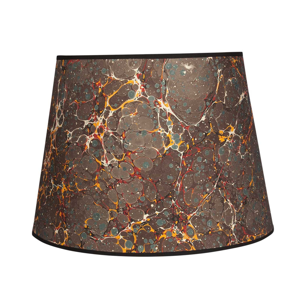 "Antique Spot - 16"" Brown Lampshade"