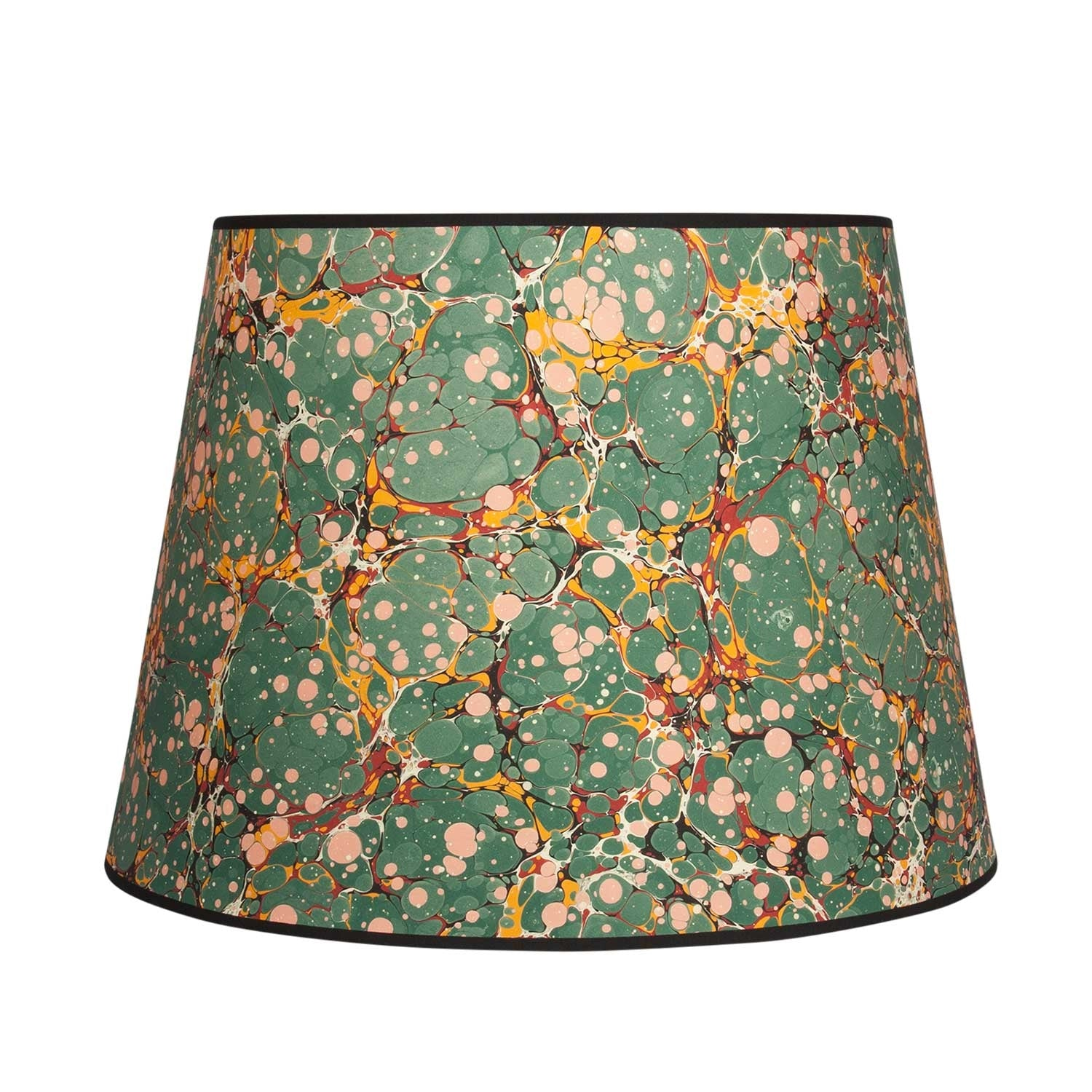 "Antique Spot - 16"" Green Lampshade"
