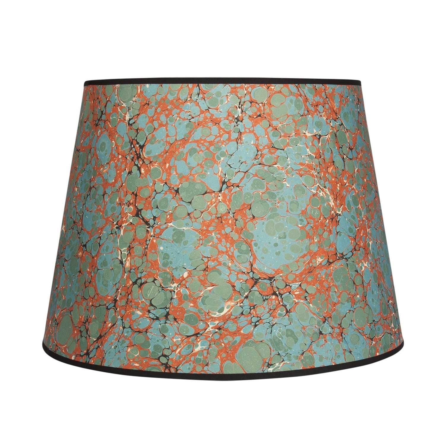 "Antique Spot - 16"" Red Lampshade"