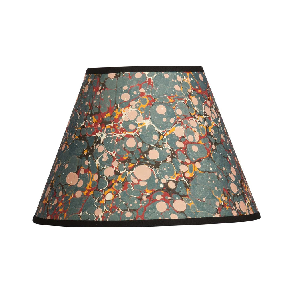 "Antique Spot - 10"" Blue Lampshade"