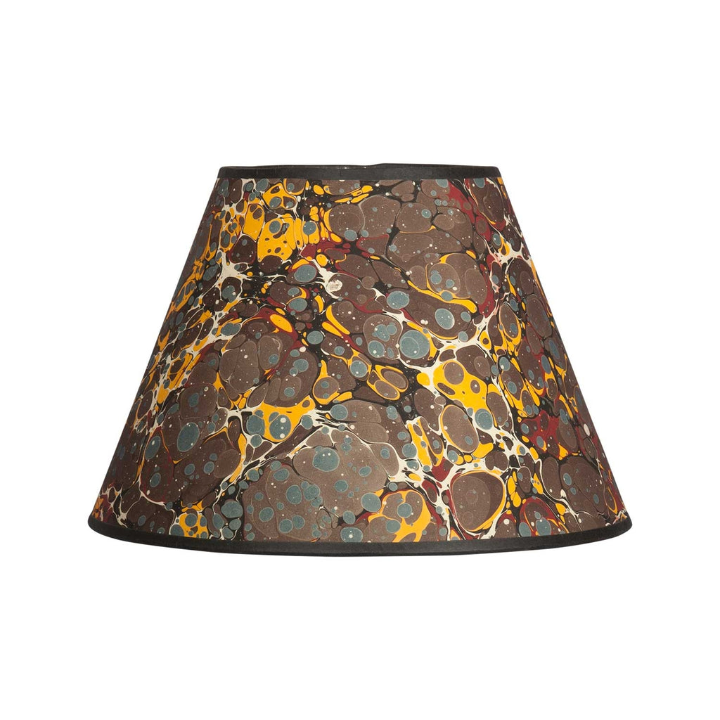 "Antique Spot - 10"" Brown Lampshade"
