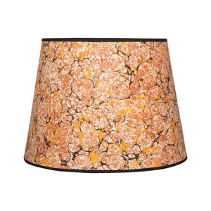 "French Shell - 16"" Orange Lampshade"