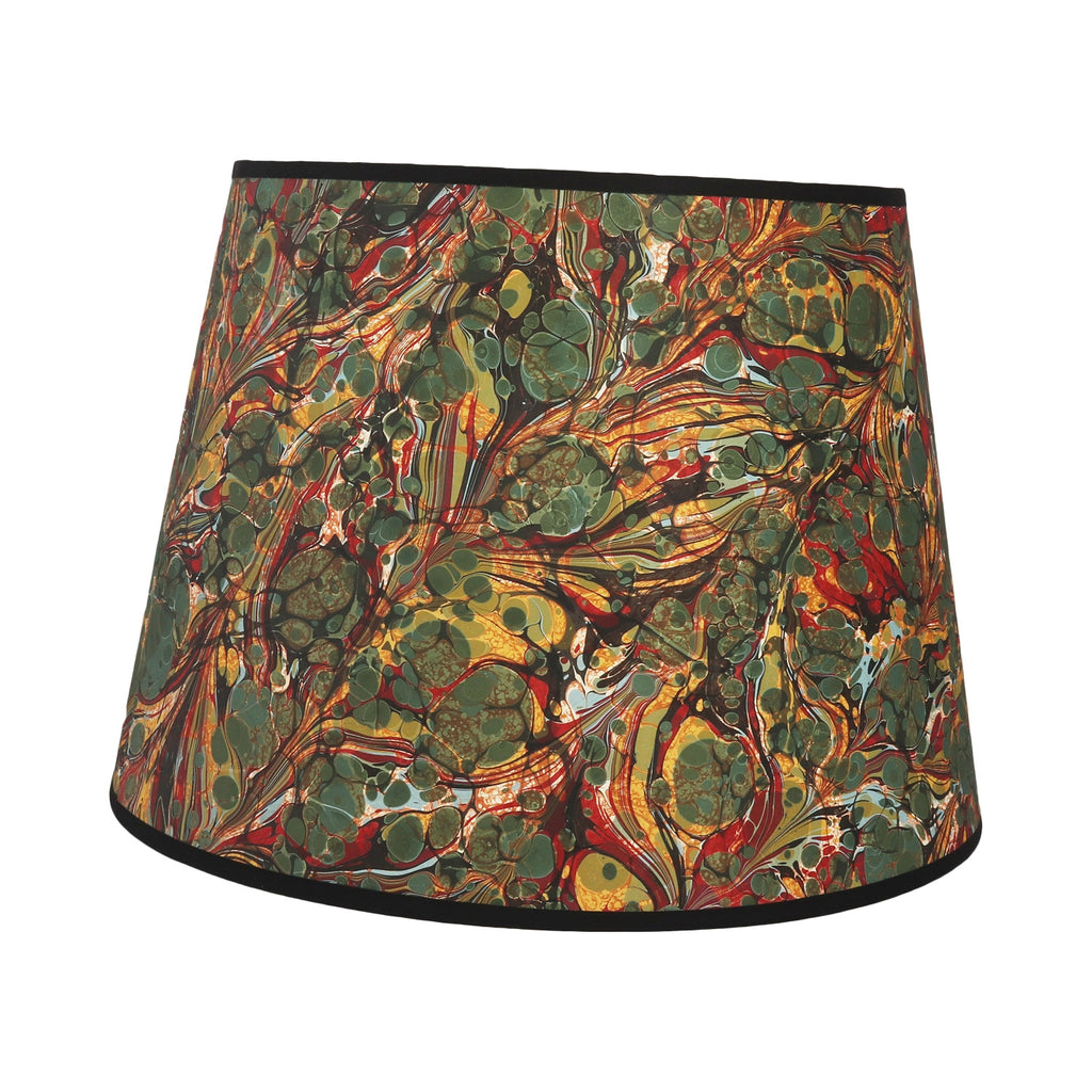 "Double Marbled  - 16"" Lampshade"