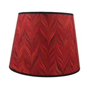"Red Agate  - 16"" Lampshade"