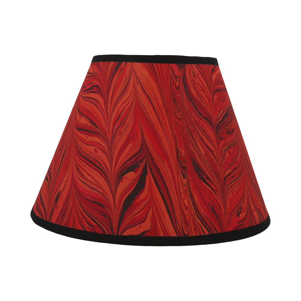 "Red Agate  - 10"" Lampshade"