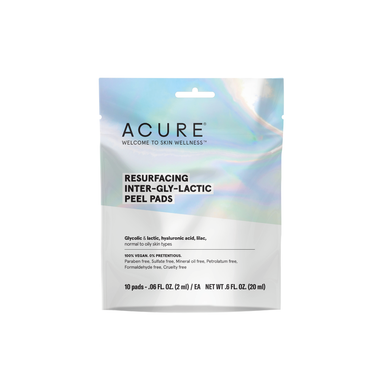 Acure - Resurfacing Inter-Gly-Lactic Peel Pads